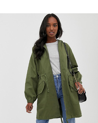 Anorak olive Asos Tall