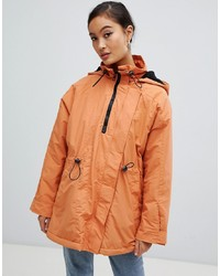 Anorak orange ASOS DESIGN