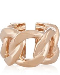 Bague dorée Givenchy