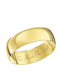 Bague dorée Theia