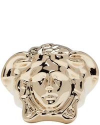 Bague dorée Versace