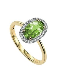 Bague verte Elements