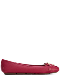 Ballerines en cuir rouges MICHAEL Michael Kors
