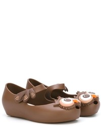 Ballerines marron Mini Melissa
