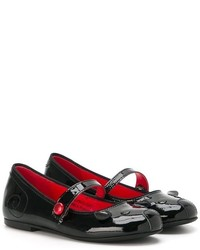 Ballerines noires Little Marc Jacobs