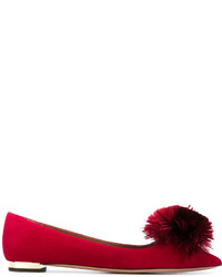 Ballerines rouges Aquazzura