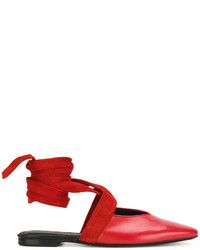 Ballerines rouges J.W.Anderson