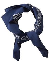 Bandana bleu marine