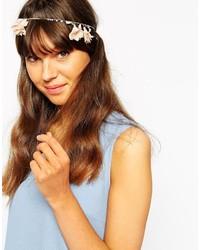 Bandeau à fleurs blanc Orelia