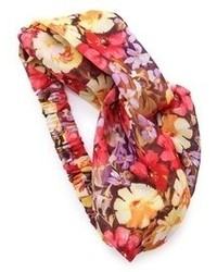 Bandeau à fleurs multicolore Eugenia Kim