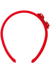 Bandeau rouge Salvatore Ferragamo