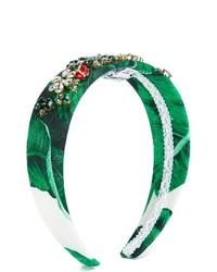 Bandeau vert Dolce & Gabbana