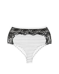 Bas de bikini blanc Fleur Du Mal
