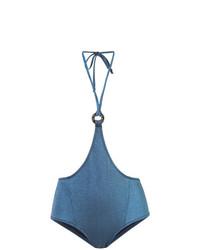 Bas de bikini bleu Morgan Lane