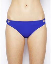 Bas de bikini bleu Mouille