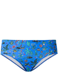 Bas de bikini bleu Paul Smith