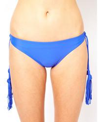 Bas de bikini bleu Seafolly