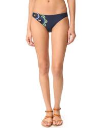 Bas de bikini bleu Tory Burch