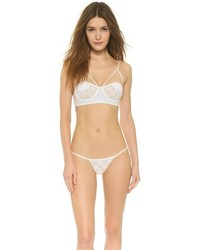Bas de bikini en crochet blanc For Love & Lemons