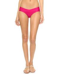 Bas de bikini fuchsia Herve Leger