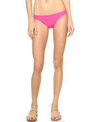 Bas de bikini fuchsia Shoshanna