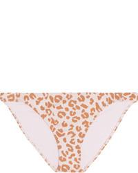Bas de bikini imprimé léopard rose Prism
