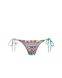 Bas de bikini imprimé multicolore Lygia & Nanny
