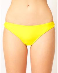 Bas de bikini jaune
