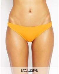 Bas de bikini jaune Asos