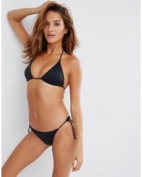 Bas de bikini noir Asos