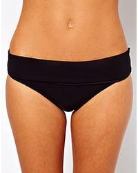 Bas de bikini noir Calvin Klein