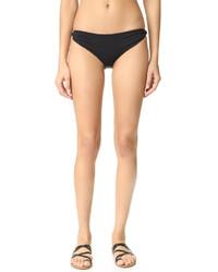 Bas de bikini noir Marysia Swim