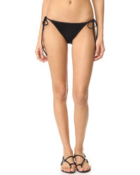 Bas de bikini noir Milly