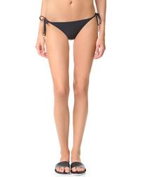 Bas de bikini noir Stella McCartney