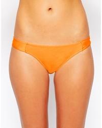 Bas de bikini orange