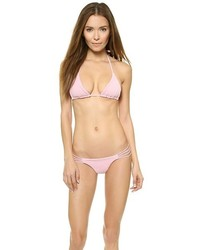 Bas de bikini rose