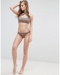Bas de bikini rose Asos