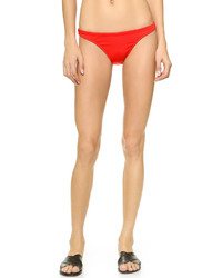 Bas de bikini rouge Milly
