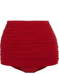 Bas de bikini rouge Norma Kamali