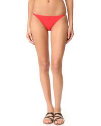 Bas de bikini rouge Tory Burch