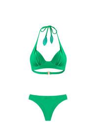 Bas de bikini vert Martha Medeiros
