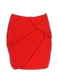 Bas de vêtements rouges