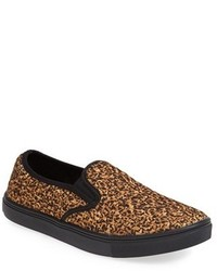 Baskets a enfiler imprimees leopard original 9768714