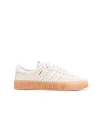 Baskets basses beiges adidas