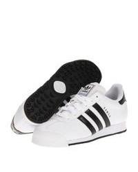 Baskets basses blanches et noires