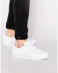 Baskets basses blanches adidas