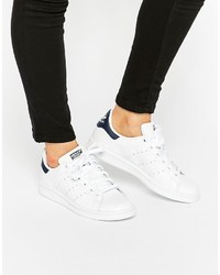 Baskets basses blanches adidas