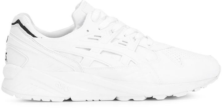 asics basses blanches