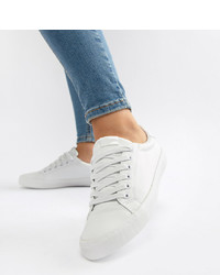 Baskets basses blanches ASOS DESIGN