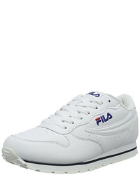 Baskets basses blanches Fila